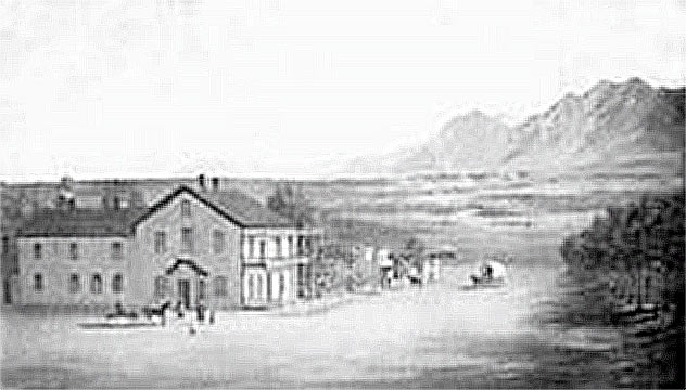 The Thriving Town of Monument, 1874
