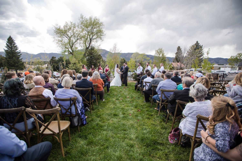 Outdoor Wedding Ceremony at Hearth House - Gunn Wedding 2019 Hearth House