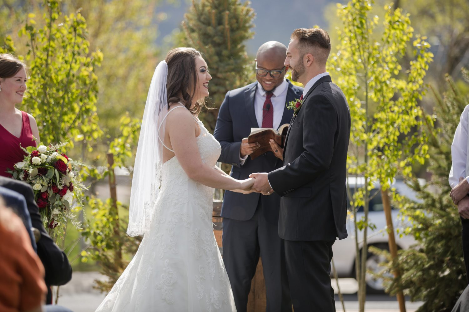 Wedding Ceremony at Hearth House - Gunn Wedding 2019 Hearth House